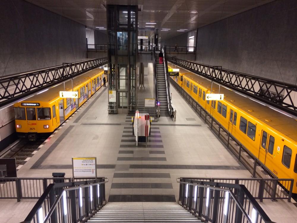 Metro de Berlín, Alemania. © LWYang, vía Flickr.