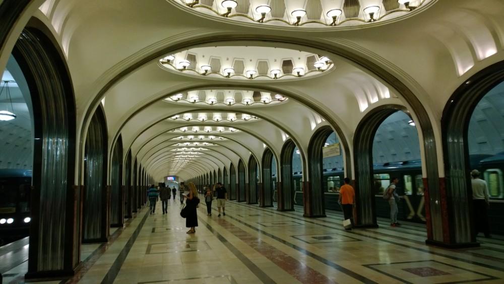 Metro de Moscú, Rusia. © haikus, vía Flickr.