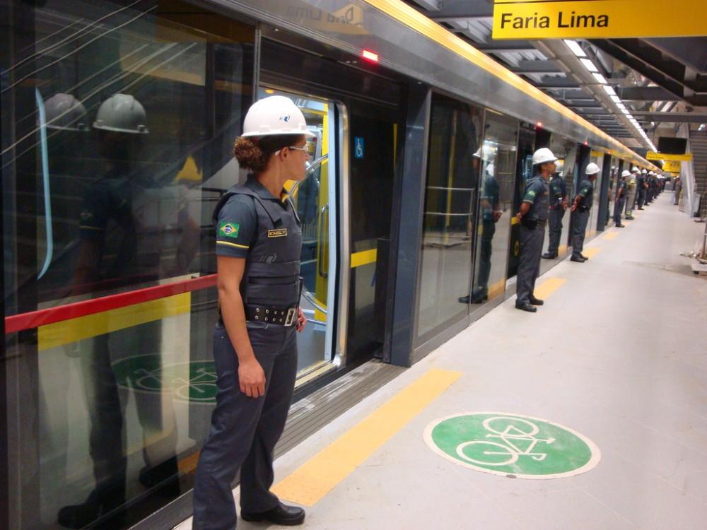 Metro de Sao Paulo, Brasil. © Blog do Mílton Jung, vía Flickr.