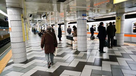 Metro de Tokio, Japón. © Antonio Tajuelo, vía Flickr.