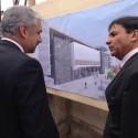 Inicio de la construcción del nuevo Centro Cultural de Quillota. Cortesía Consejo Nacional de la Cultura y las Artes (CNCA).