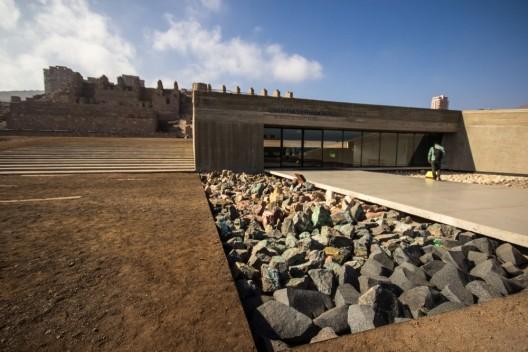 Museo Desierto de Atacama en Parque Cultural Ruinas de Huanchaca. Foto por Armando Torrealba para Plataforma Urbana