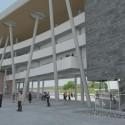 Proyecto Centro Cultural Quillota. Cortesía Consejo Nacional de la Cultura y las Artes (CNCA).