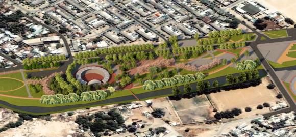 Proyecto Parque Estero Piduco, en Talca.