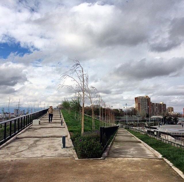 Parque Fluvial Renato Poblete © Cortesía Stgolocura