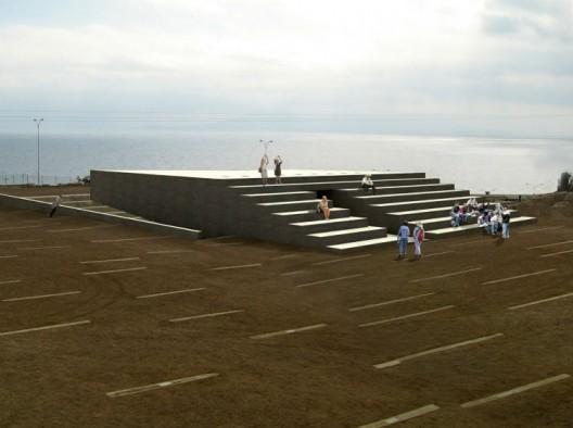 Proyecto Anfiteatro del Parque Cultural Ruinas de Huanchaca. Fuente imagen: Fundación Ruinas de Huanchaca.