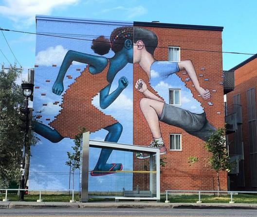 Mural de Seth en Canadá.