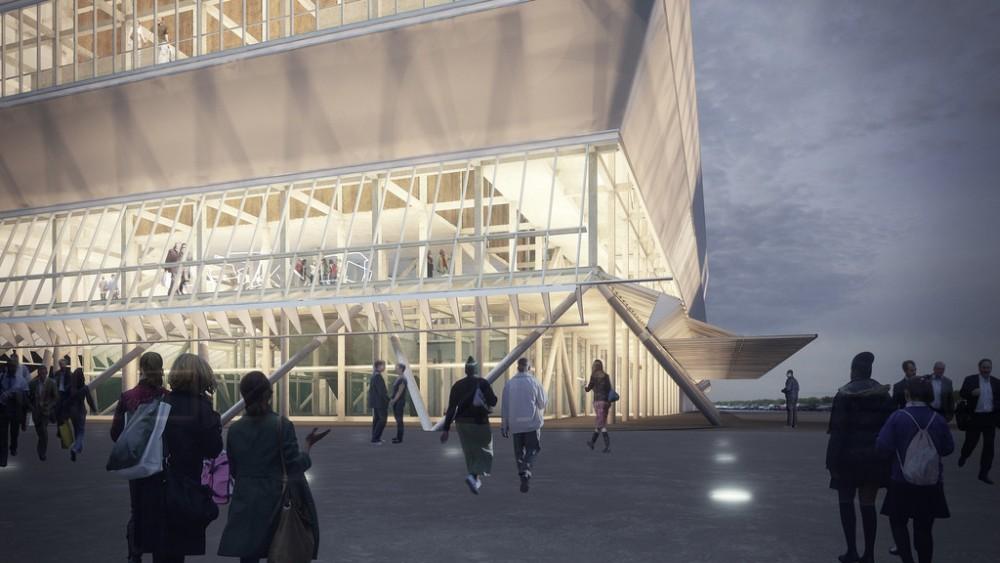 Teatro Regional del Bío-Bío. Imagen vía Plataforma Arquitectura