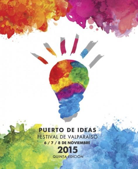 Afiche Puerto de Ideas Valparaiso noviembre 2015
