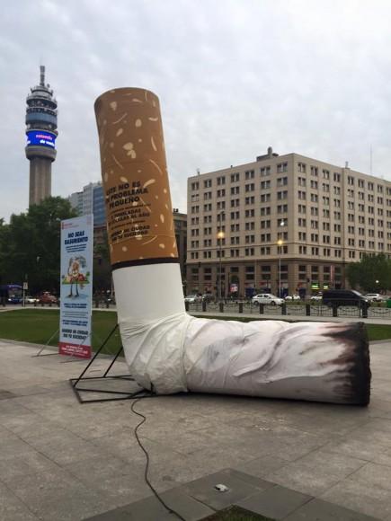 """Campaña """"Quiero Mi Ciudad, Sin Tu Suciedad"""". © Municipalidad de Santiago, vía Facebook."""