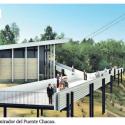 puente chacao museo y mirador maqueta proyecto