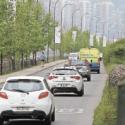 congestion vehicular en gran santiago
