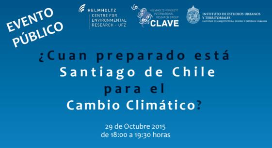 ¿Cuán preparado está Santiago de Chile para el Cambio Climático?