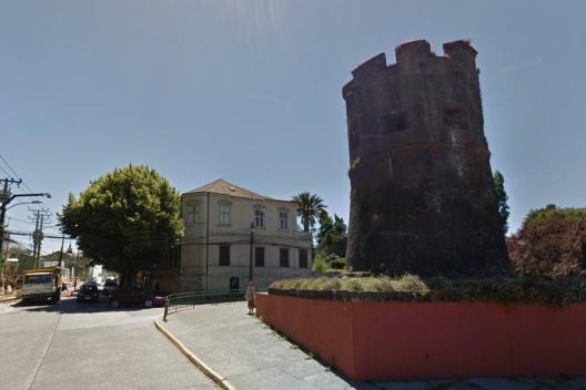 Casa Luis Oyarzún, Valdivia.  Fuente imagen: Google Maps.
