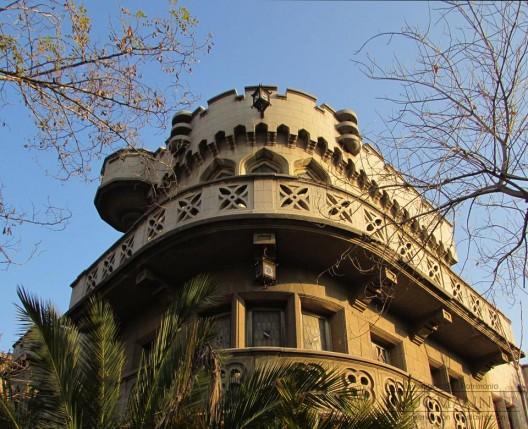 Castillo Los Jesuitas, Providencia. Cortesía Brügmann Restauradores.