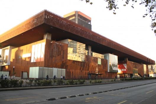 Centro Cultural Gabriela Mistral, GAM. © Platafoma Urbana.