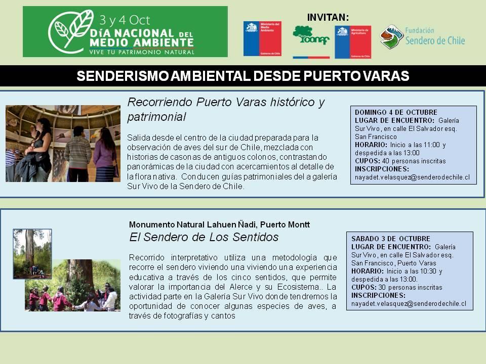 Dia Nacional del Medio Ambiente Sendero de Chile Puerto Varas