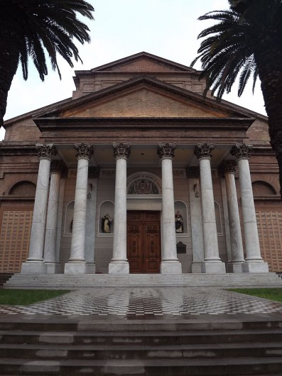 Frontis Iglesia Recoleta Dominica (Imagen de referencia). © Diego Claro, vía Wikimedia Commons.