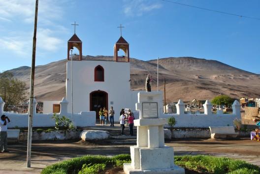 Iglesia San Jerónimo de Poconchile. © faoch, vía Flickr.