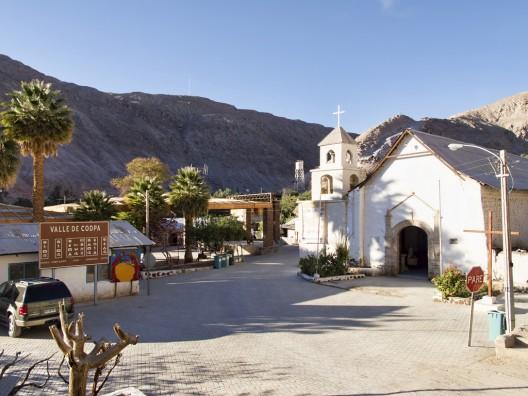 Iglesia San Martín de Tours en Valle de Codpa. © Dan Lundberg, vía Flickr.