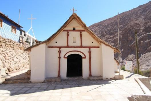 Iglesia Virgen del Carmen de Chitita. Cortesia Dibam
