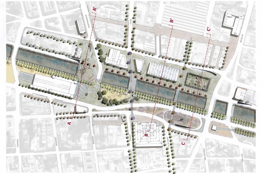 Propuesta Dupla. Imagen vía Municipalidad de Santiago