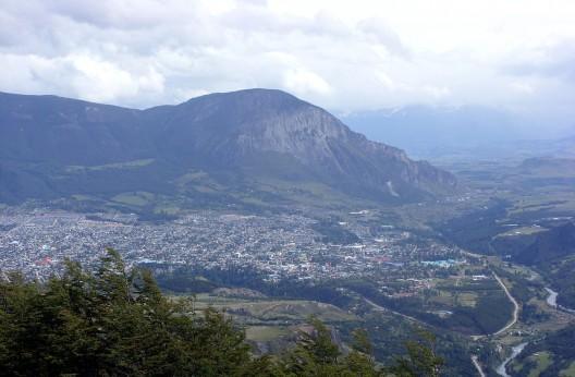 Coyhaique, Región de Aysén. ©  Lin linao, vía Wikimedia Commons.