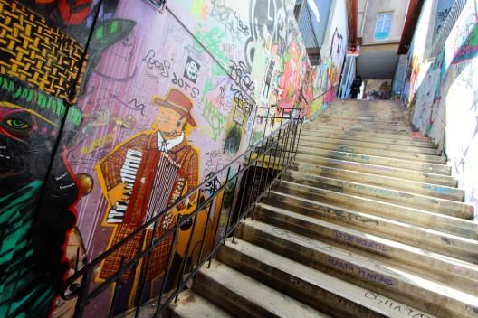 Interior de Conjunto Bavellestero, Valparaíso. ©  throgers, vía Flickr.