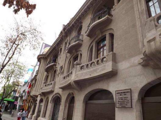 Sede Nacional del Colegio de Arquitectos de Chile. © Colegio de Arquitectos, vía Twitter.