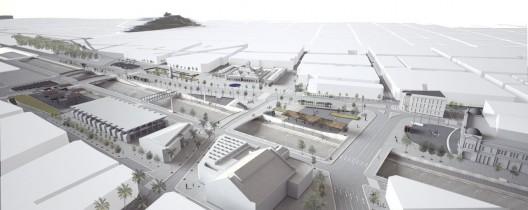 Propuesta Shift Arquitectos. Image vía Municipalidad de Santiago