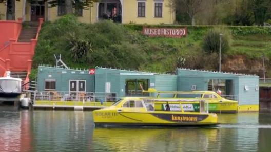taxis solares transporte fluvia sistentable valdivia