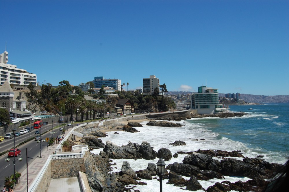 Viña del Mar, Chile. © rafaelm, vía Flickr.