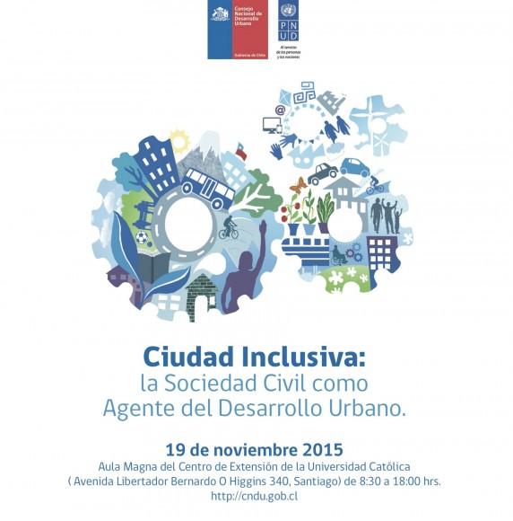 AFICHE-seminario Ciudad Inclusiva CNDU