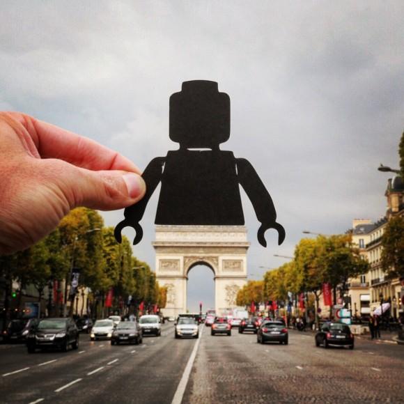 Arco del Triunfo, París. Imagen © Rich McCor