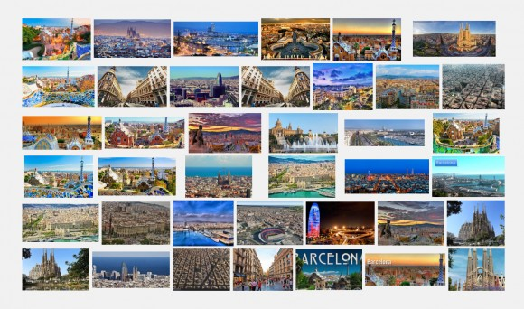 Barcelona según Google Images. Image vía Google Images