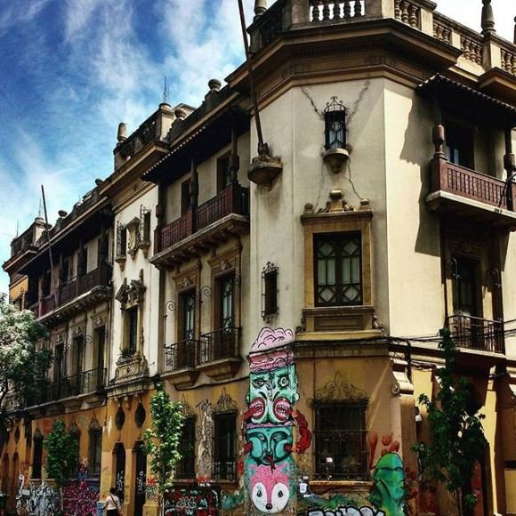 Calle Catedral. Cortesía Barrio Brasil en Instagram