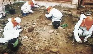momias chinchorro en ex edificio