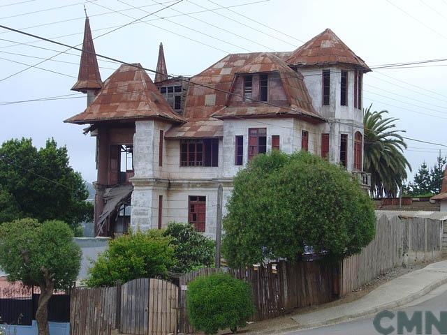 Casa de Vicente Huidobro. © Consejo de Monumentos Nacionales
