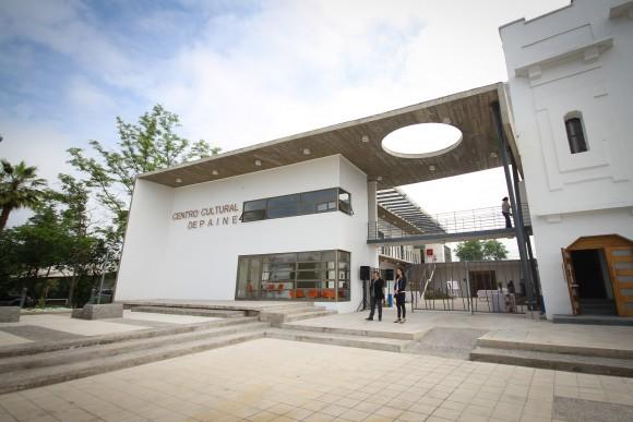 Nuevo Centro Cultural de Paine. Cortesía Consejo Nacional de la Cultura y las Artes