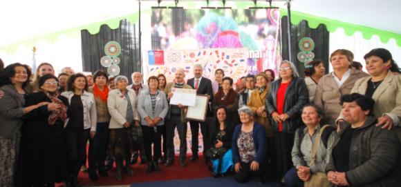 Día Nacional del Artesano en que se entegó la declaratoria. ©Consejo de la Cultura y las Artes