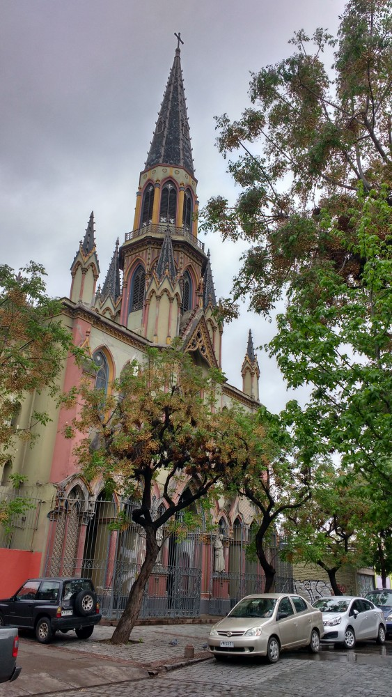 Iglesia Corpus Domini en calle Santo Domingo esquina Av. Brasil. Cortesía Barrio Brasil en Instagram