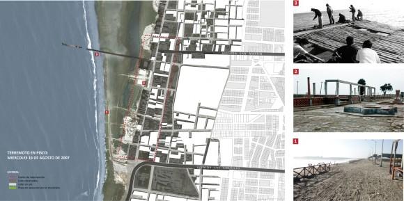 Zona elegida para la intervención de regeneración urbana. Image Cortesía de Cerasil Rangel Mungi