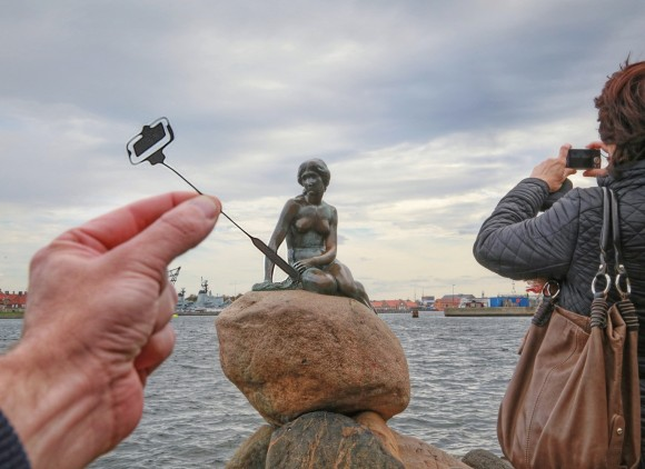 La Sirenita de Copenhague. Imagen © Rich McCor