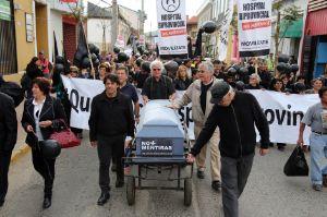 manifestacion hospitales