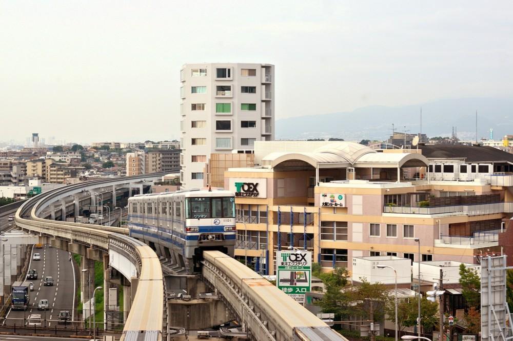 Monorriel en Osaka. ©  JanneM, vía Flickr.