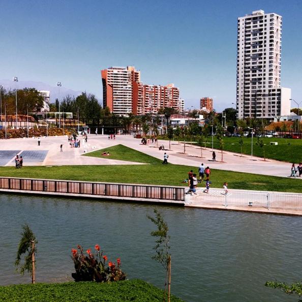 Parque Fluvial Renato Poblete. Cortesía Barrio Brasil en Instagram