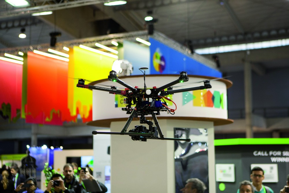"""Campaña """"Drones por tu ciudad"""".  ©Smart City World Congress"""