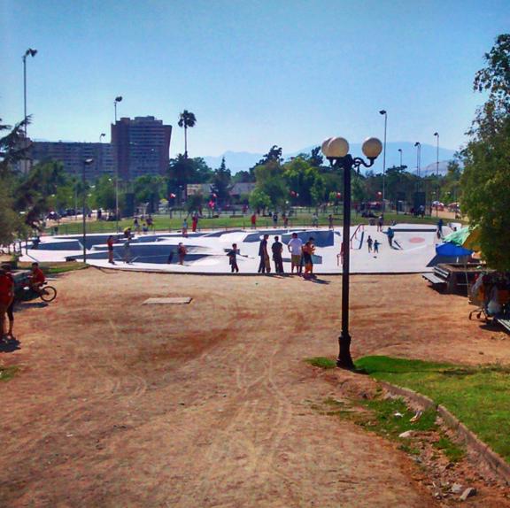 Skatepark del Parque de Los Reyes. Cortesía Barrio Brasil en Instagram