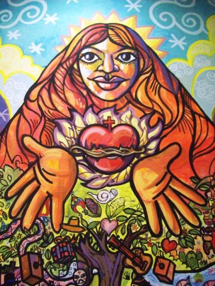 Sin título. Mural comunitario. Image © Fabio Rodríguez