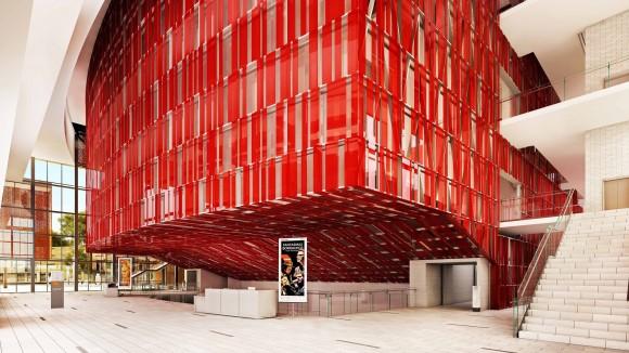 Segunda etapa de GAM. Image Cortesía de Consejo Nacional de la Cultura y las Artes